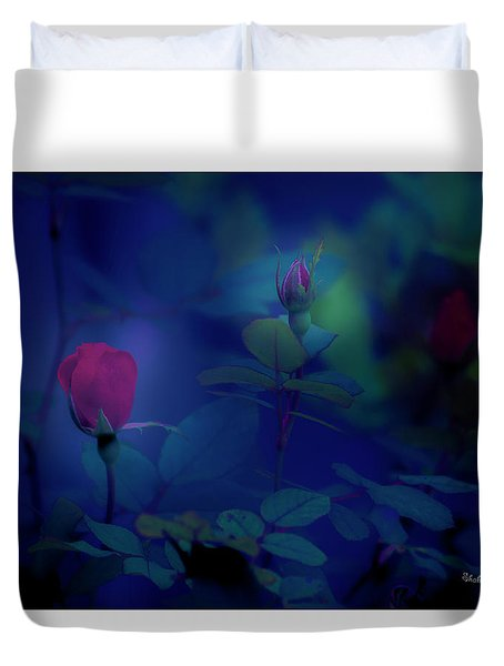 Beauty And The Mist Duvet Cover