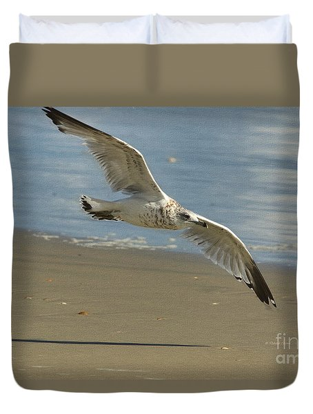 Beauty At The Beach Duvet Cover
