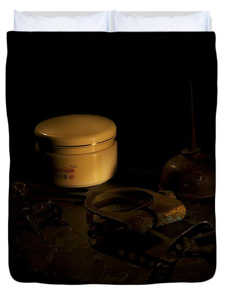 Beauty Cream Duvet Cover