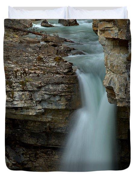 Beauty Creek Blue Falls Duvet Cover