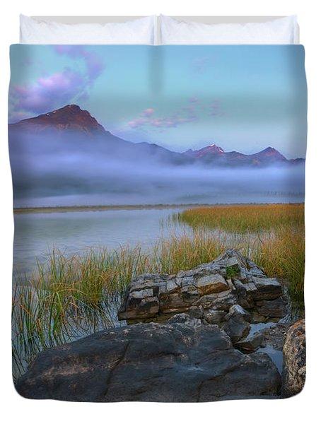 Beauty Creek Dawn Duvet Cover