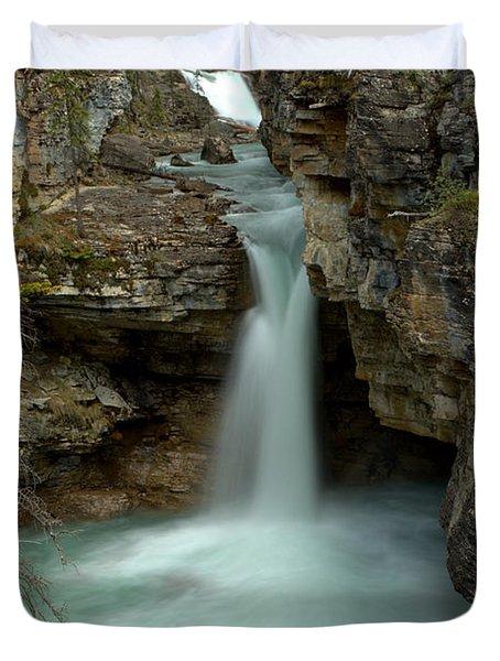 Beauty Creek Hidden Waterfall Canyon Duvet Cover