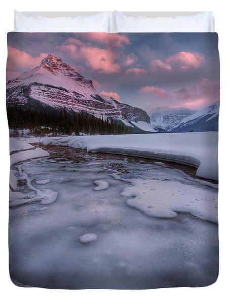 Beauty Creek, Jasper National Park Duvet Cover