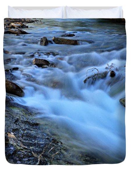 Beauty Creek Duvet Cover by Larry Ricker