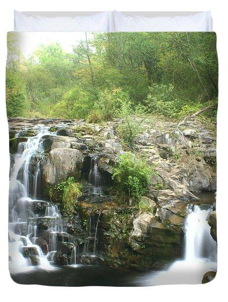 Beauty Falls Duvet Cover by Marty Koch