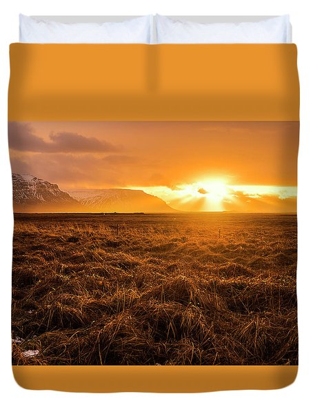 Duvet Cover featuring the photograph Beauty In Nature by Pradeep Raja Prints