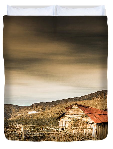 Beauty In Rural Dilapidation Duvet Cover