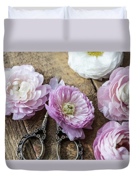 Duvet Cover featuring the photograph Beauty In Simplicity by Kim Hojnacki