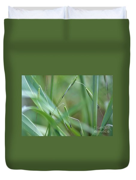 Beauty In Simplicity Duvet Cover by Sheila Ping