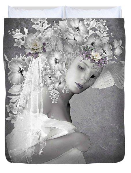 Beauty In The Eye Duvet Cover