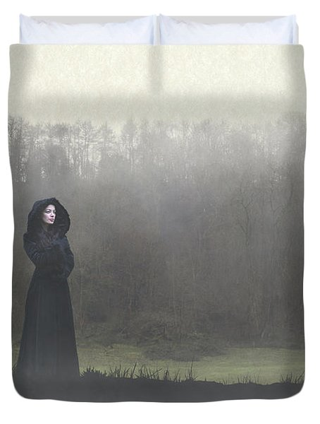 Beauty In The Fog Duvet Cover