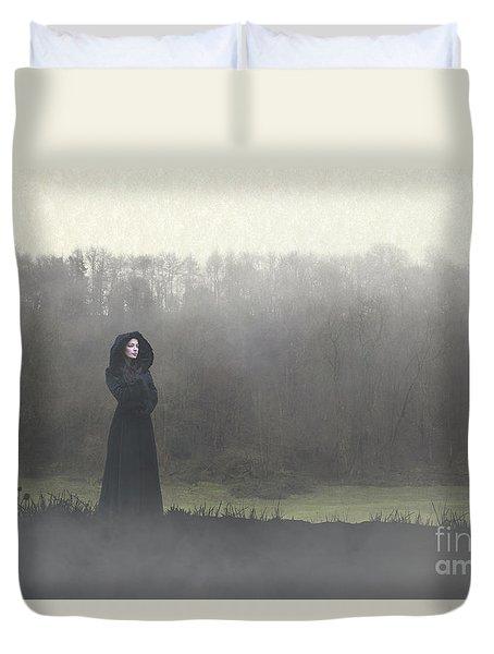Beauty In The Fog Duvet Cover