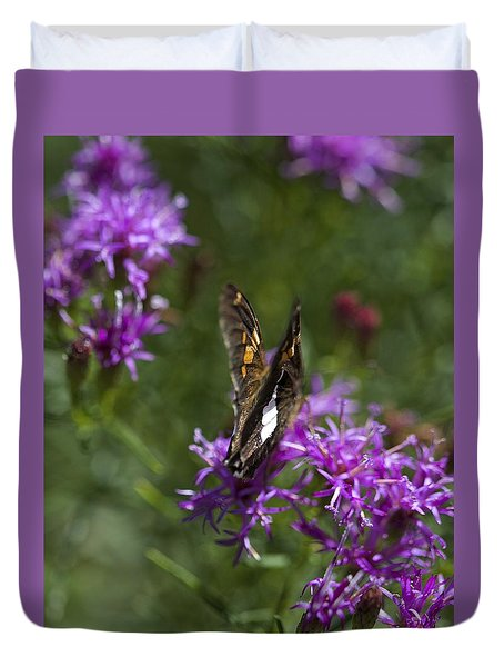 Beauty In The Garden Duvet Cover