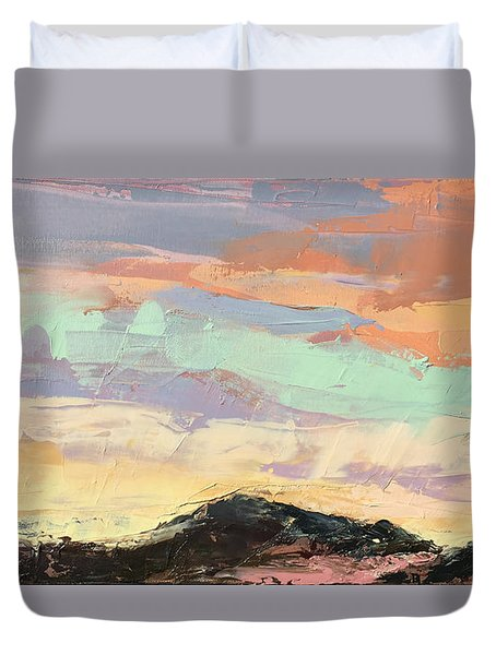 Beauty In The Journey Duvet Cover