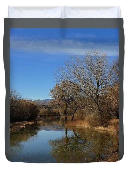 Beauty In The Lake Duvet Cover