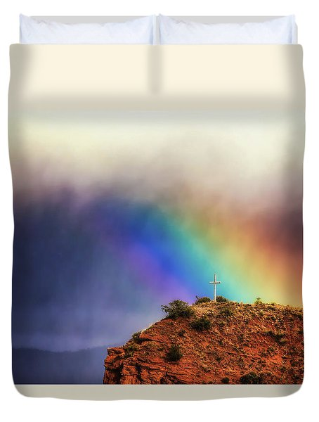 Beauty In The Storm Duvet Cover