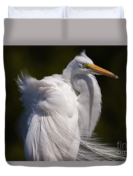 Beauty In The Wind Duvet Cover