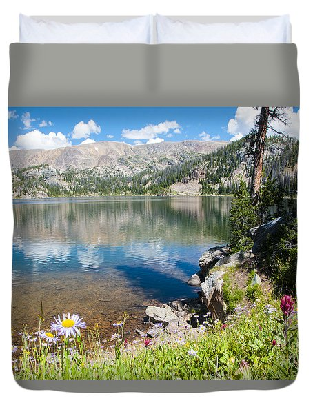 Beauty Lake Duvet Cover