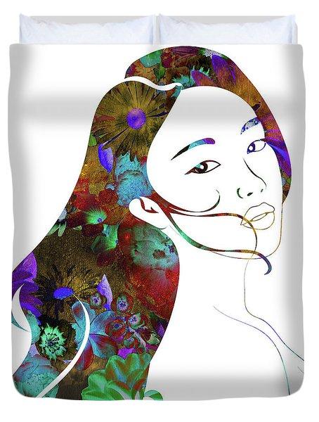 Beauty Lingers Duvet Cover