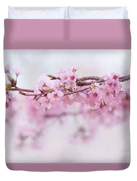 Beauty Of Blossom Duvet Cover by Rima Biswas