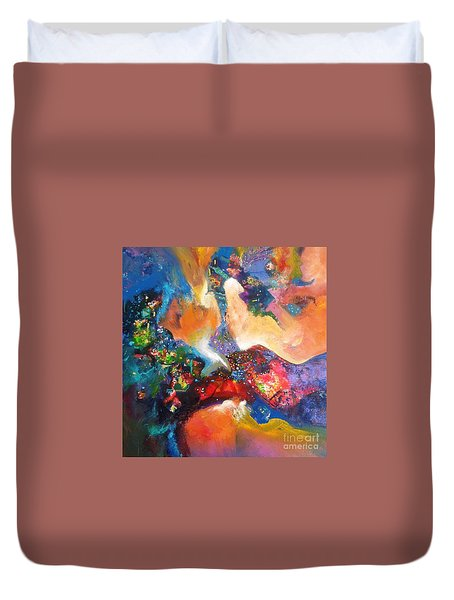 beauty of mirage II Duvet Cover