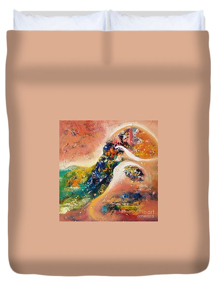 Beauty Of Mirage Duvet Cover