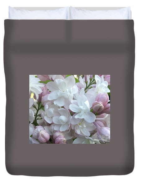 Beauty Of Moscow Lilac Maine Spring 2015 Duvet Cover by Patricia E Sundik