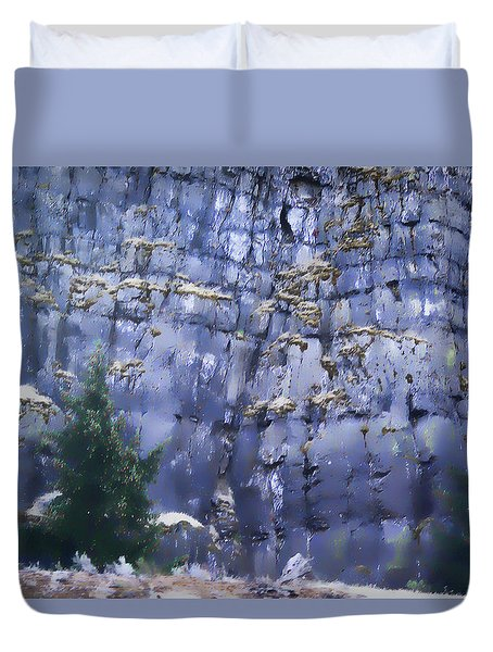 Duvet Cover featuring the photograph Beauty Of The Gorge by Dale Stillman
