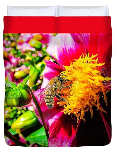 Beauty Of The Nature Duvet Cover by Cesar Vieira