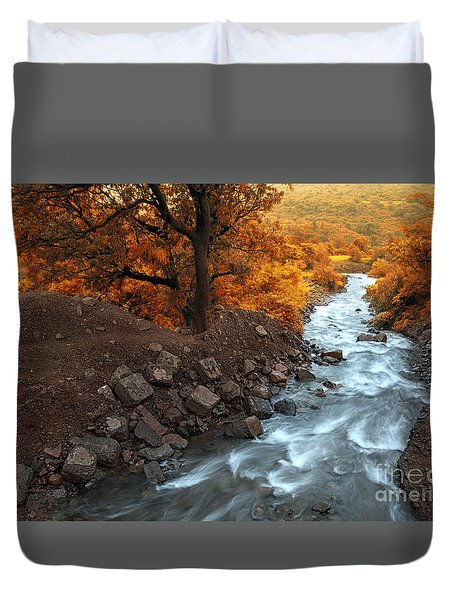 Beauty Of The Nature Duvet Cover by Charuhas Images