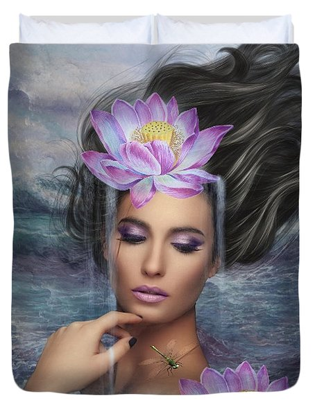 Beauty Of The Sea Duvet Cover