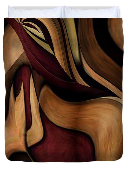 Beauty Queen Duvet Cover by Jill English