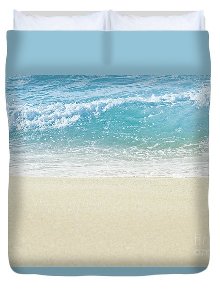 Duvet Cover featuring the photograph Beauty Surrounds Us by Sharon Mau