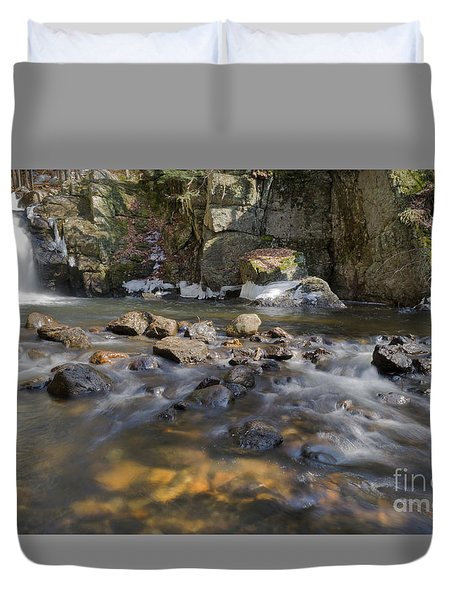 Beaver Brook Falls Duvet Cover