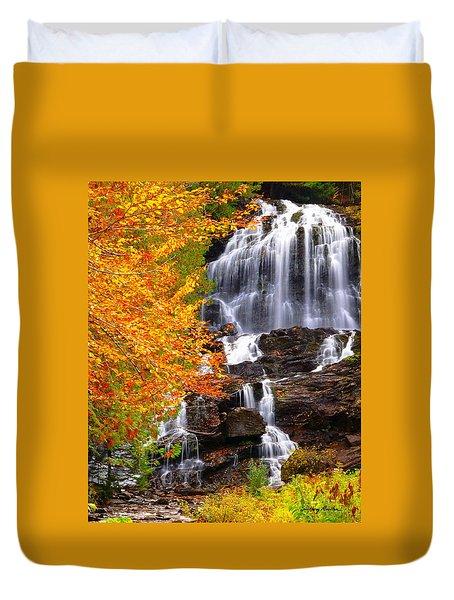 Beaver Brook Falls Duvet Cover