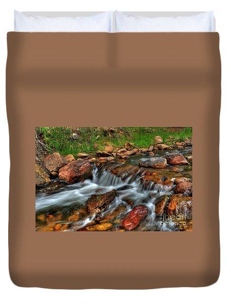 Beaver Creek Duvet Cover
