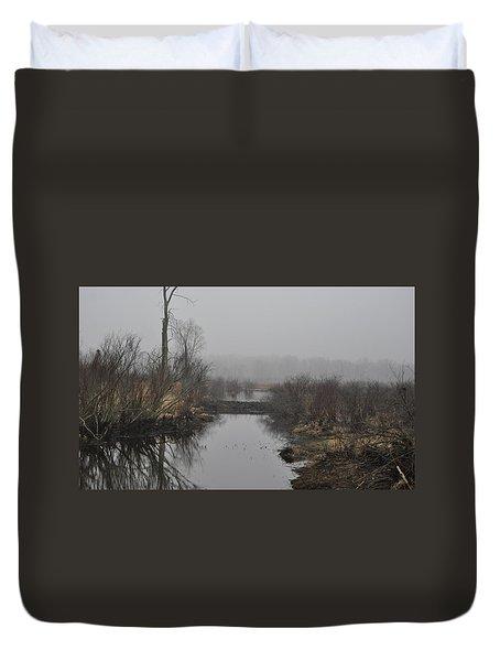 Beaver Dam Duvet Cover