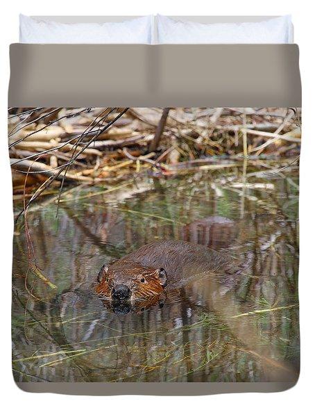 Beaver Look Duvet Cover