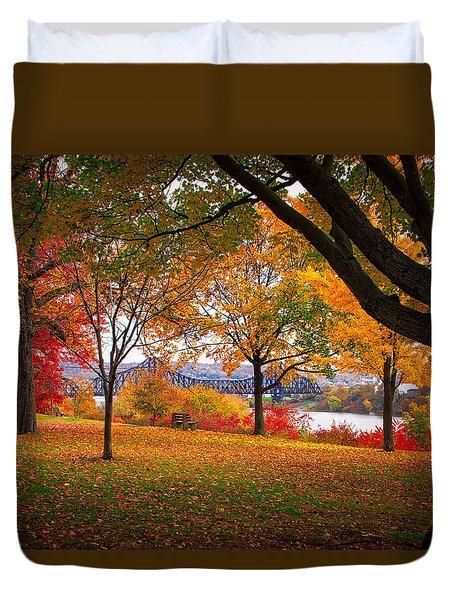 Beaver Park Duvet Cover