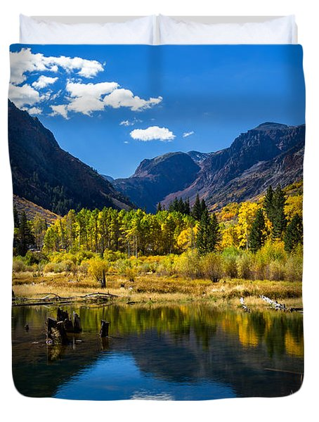 Beaver Pond Duvet Cover