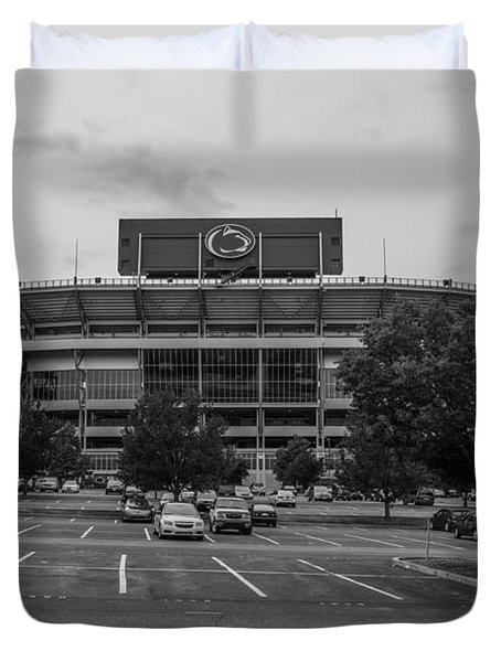 Beaver Stadium And Lot Duvet Cover