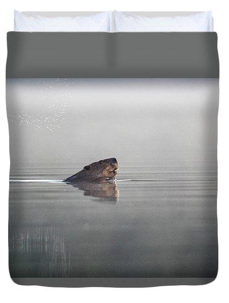 Beaver Tail Duvet Cover
