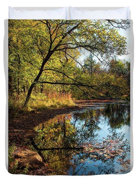 Beaver's Pond Duvet Cover