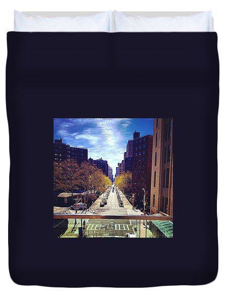 Highline Park Duvet Cover by Mckenzie Weldon