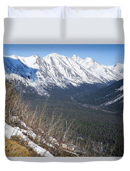 Beckoning Valley Duvet Cover