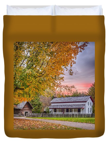 Becky Cabel House Duvet Cover