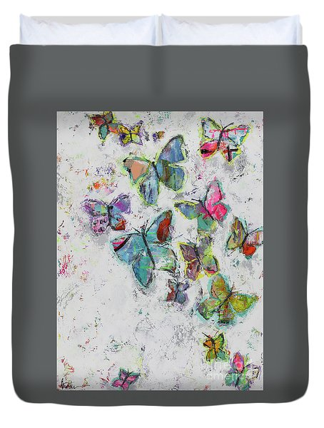 Becoming Free Duvet Cover