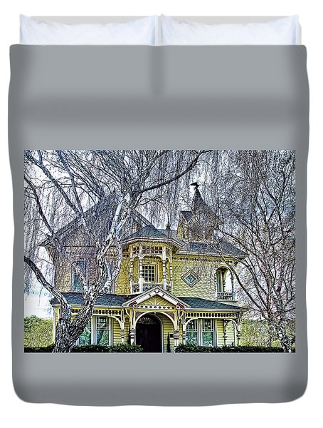 Bed And Breakfast Duvet Cover