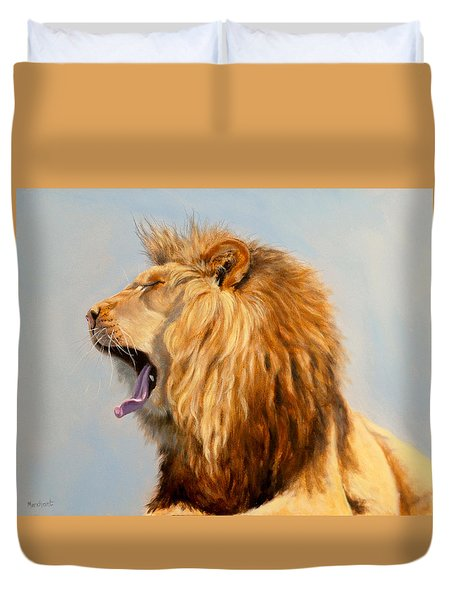 Bed Head - Lion Duvet Cover