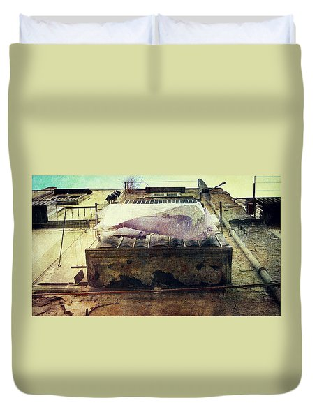 Bedclothes Duvet Cover by Vittorio Chiampan